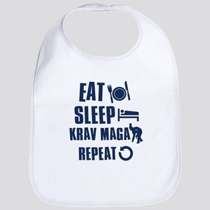 Eat Sleep Krav Maga Bib