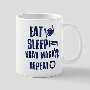 Eat Sleep Krav Maga Mug