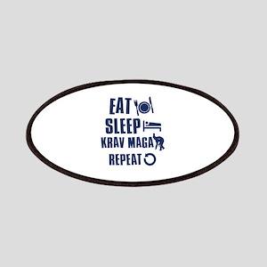 Eat Sleep Krav Maga Patches
