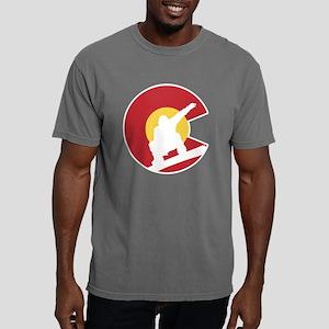 Colorado Snowboarder Mens Comfort Colors Shirt