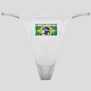 Eat Sleep Brazilian Jiu Jitsu Classic Thong