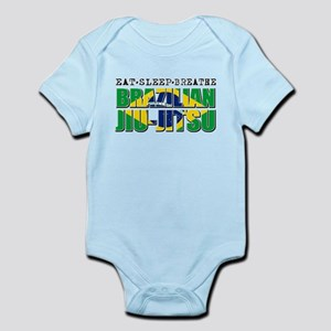Eat Sleep Brazilian Jiu Jitsu Infant Bodysuit