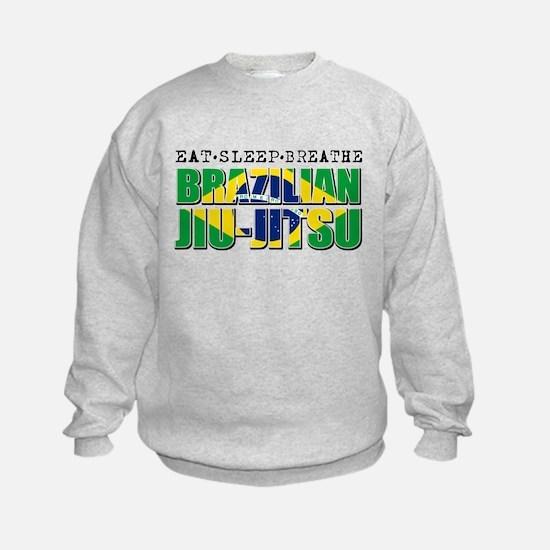 Eat Sleep Brazilian Jiu Jitsu Sweatshirt