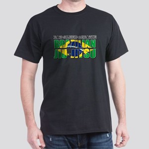 Eat Sleep Brazilian Jiu Jitsu Dark T-Shirt