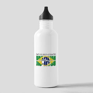 Eat Sleep Brazilian Jiu Jitsu Stainless Water Bott