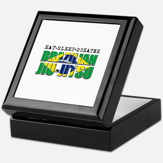 Eat Sleep Brazilian Jiu Jitsu Keepsake Box