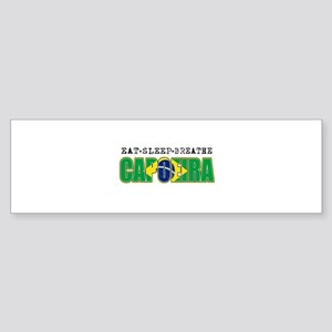 Eat Sleep Capoeira Sticker (Bumper)