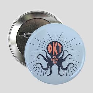 "Phi Kappa Tau Octopus 2.25"" Button (10 pack)"