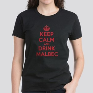 K C Drink Malbec Women's Dark T-Shirt