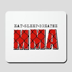 Eat Sleep MMA Mousepad