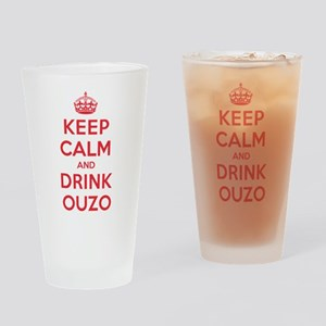 K C Drink Ouzo Drinking Glass