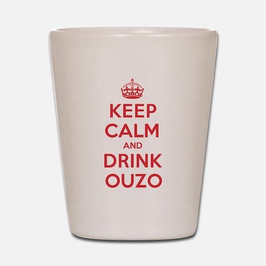 K C Drink Ouzo Shot Glass