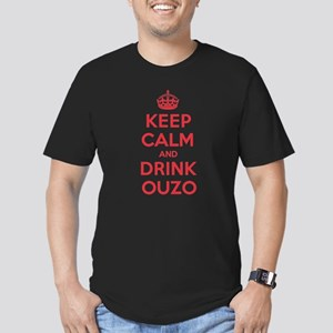 K C Drink Ouzo Men's Fitted T-Shirt (dark)