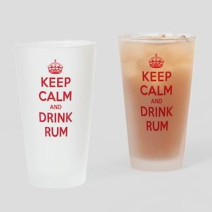 K C Drink Rum Drinking Glass
