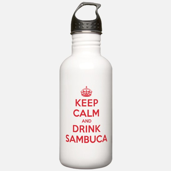 K C Drink Sambuca Water Bottle