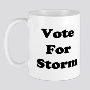 Vote for Storm (Black) Mug