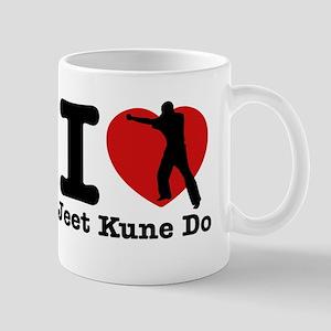 Jeet Kune Do Heart Designs Mug