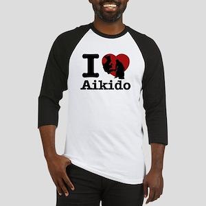 Aikido Heart Designs Baseball Jersey