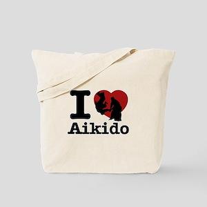 Aikido Heart Designs Tote Bag