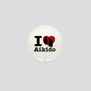 Aikido Heart Designs Mini Button