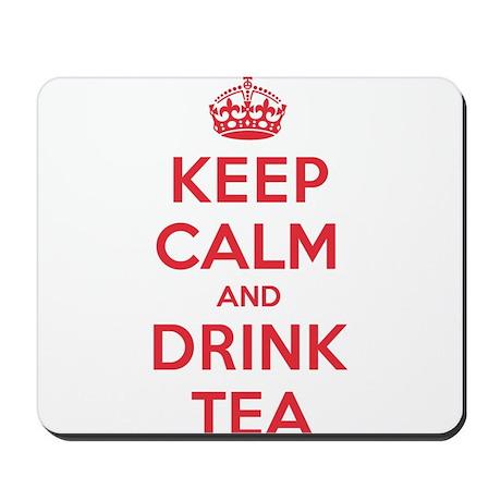 K C Drink Tea Mousepad