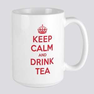 K C Drink Tea Large Mug