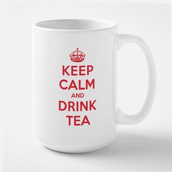 K C Drink Tea Large Mug