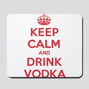K C Drink Vodka Mousepad
