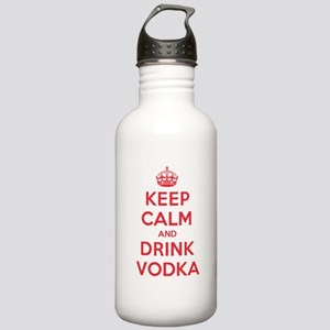 K C Drink Vodka Stainless Water Bottle 1.0L