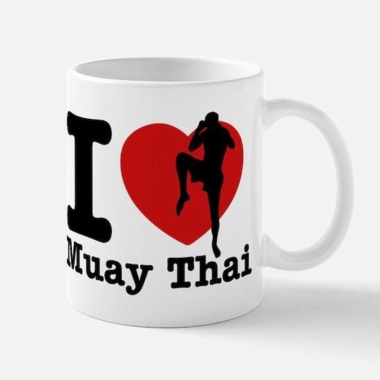 Muay Thai Heart Designs Mug