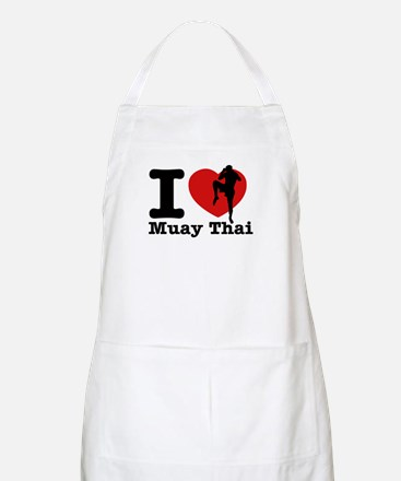 Muay Thai Heart Designs Apron
