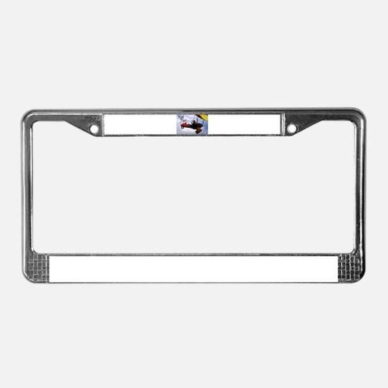 High Flyer License Plate Frame