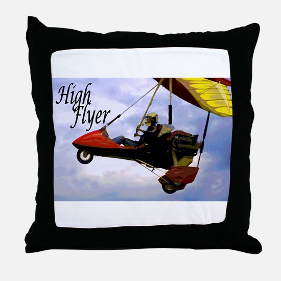High Flyer Throw Pillow
