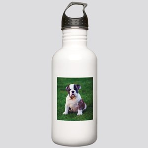 Cute Bulldog Stainless Water Bottle 1.0L