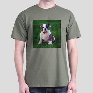 Cute Bulldog Dark T-Shirt