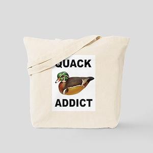 QUACK ADDICT Tote Bag