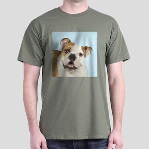 Blue Bulldog Dark T-Shirt