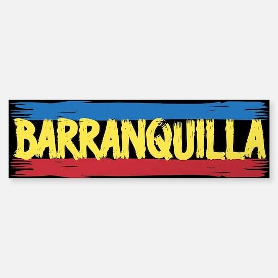 Barranquilla Bumper Bumper Bumper Sticker