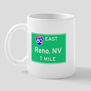 Reno Exit Sign Mug