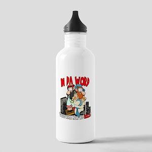 Datz How We Rollz Stainless Water Bottle 1.0L