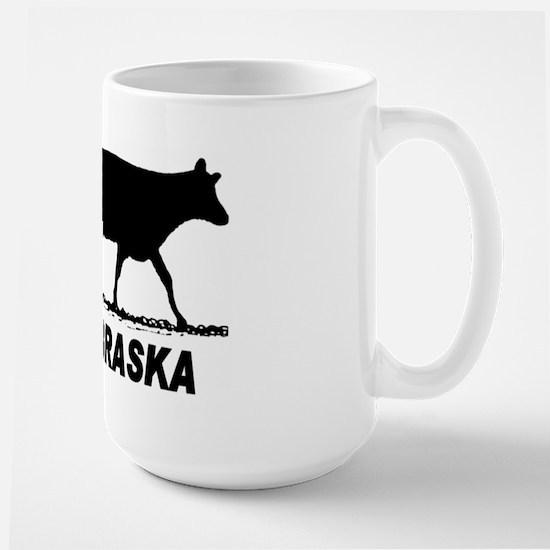 Ski Nebraska Large Mug