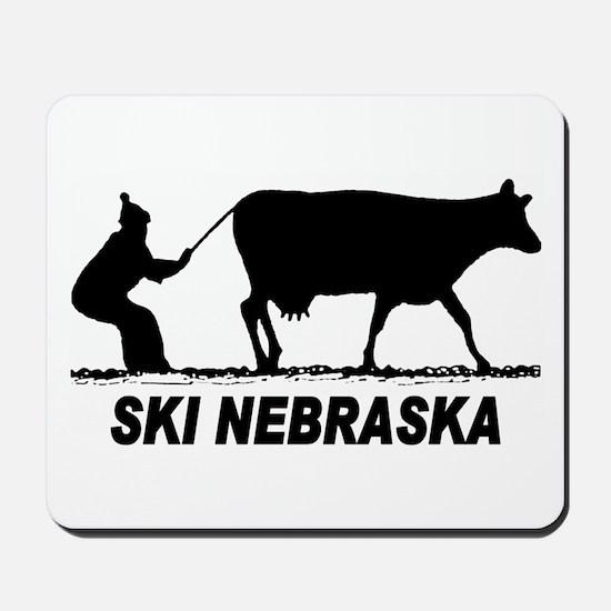 Ski Nebraska Mousepad