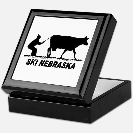 Ski Nebraska Keepsake Box