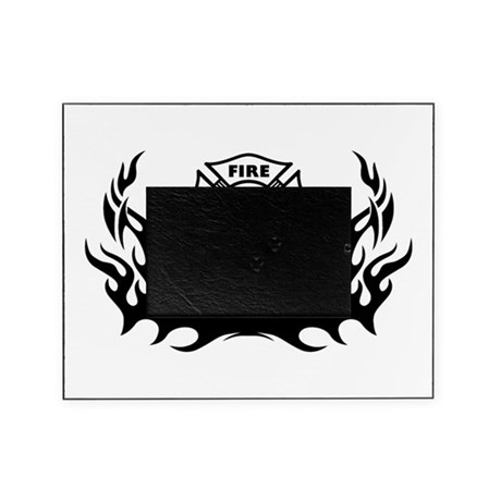 Fire Dept Firefighter Tattoos Picture Frame