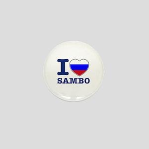Sambo Flag Designs Mini Button