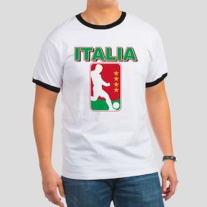 Italian World Cup Soccer Ringer T