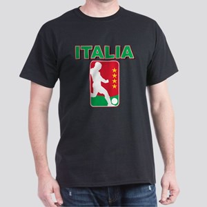 Italian World Cup Soccer Dark T-Shirt