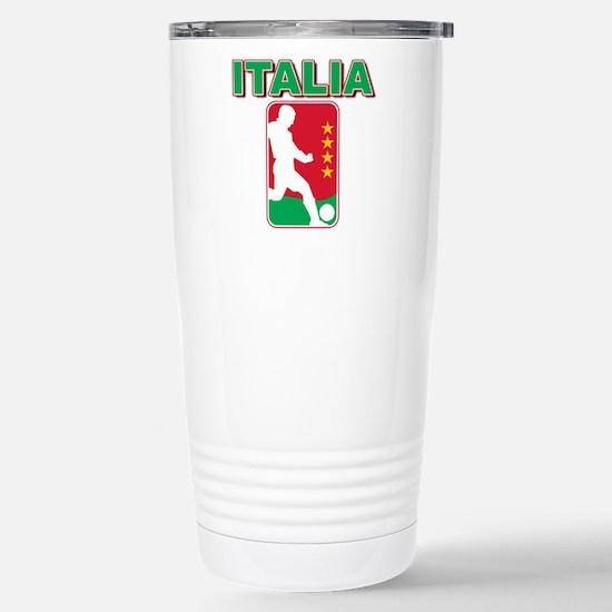 Italian World Cup Soccer Stainless Steel Travel Mu