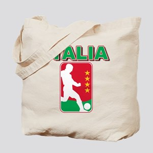 Italian World Cup Soccer Tote Bag