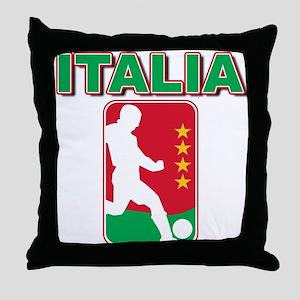 Italian World Cup Soccer Throw Pillow